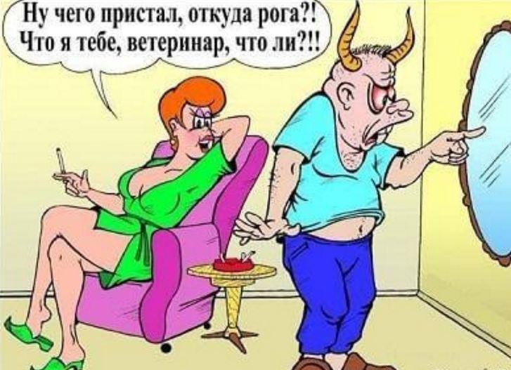 анекдоты про жену пошлые