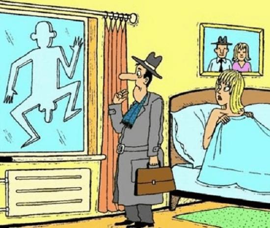 анекдоты смешные в картинках