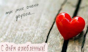 короткие поздравления с днем влюбленных любимой девушке