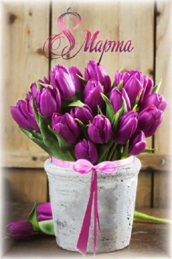 Картинки поздравления 8 марта красивые (15)