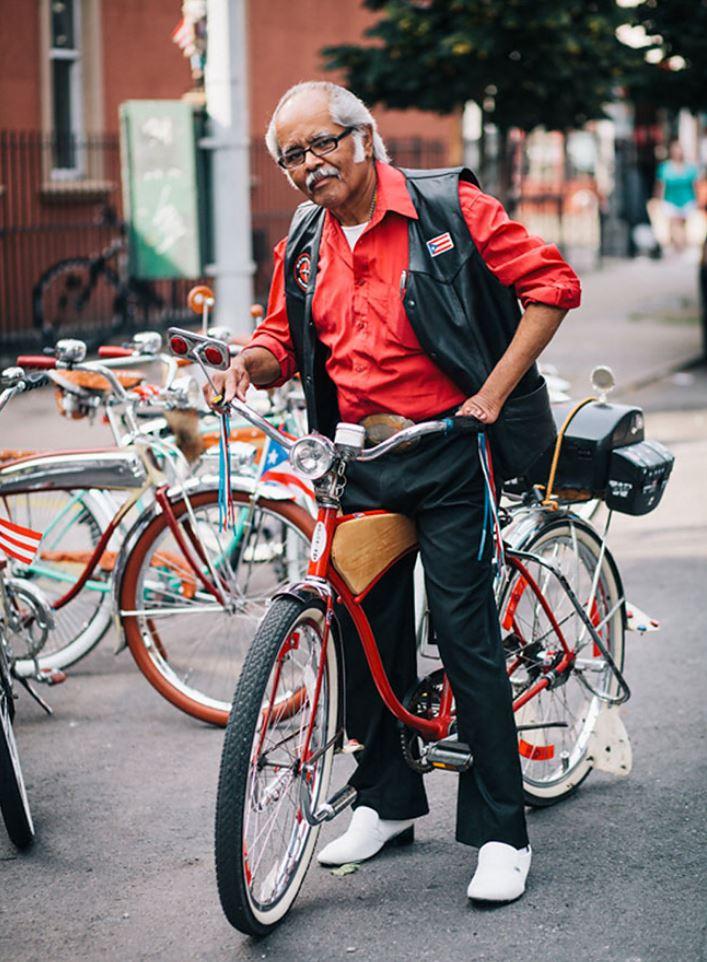 Жители Нью Йорка на велосипедах (11)