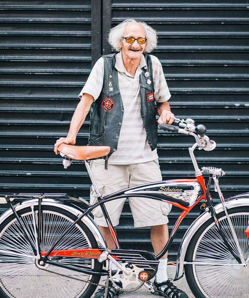 Жители Нью Йорка на велосипедах (12)
