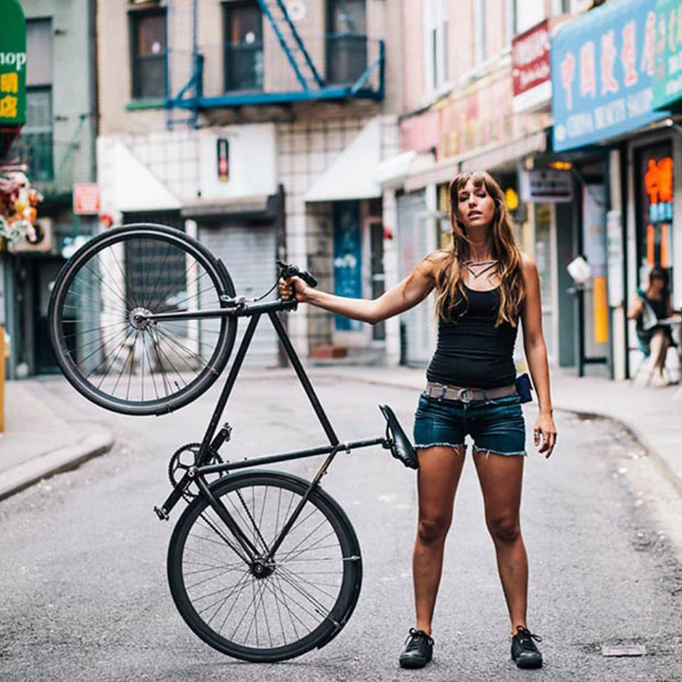 Жители Нью Йорка на велосипедах (2)