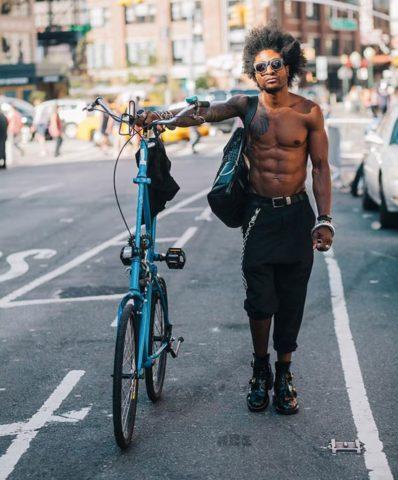 Жители Нью Йорка на велосипедах (3)