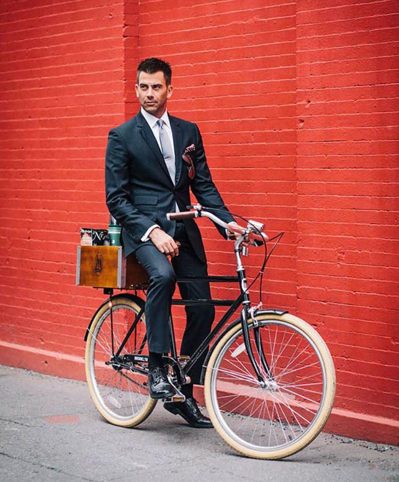 Жители Нью Йорка на велосипедах (4)