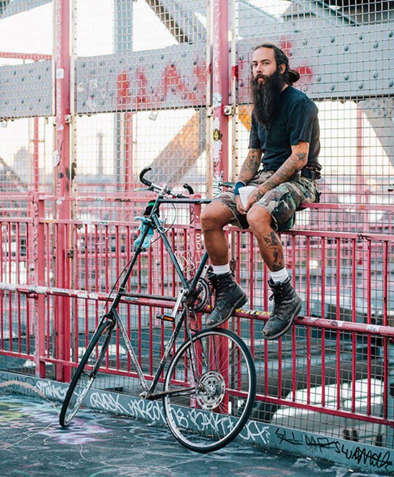 Жители Нью Йорка на велосипедах (5)