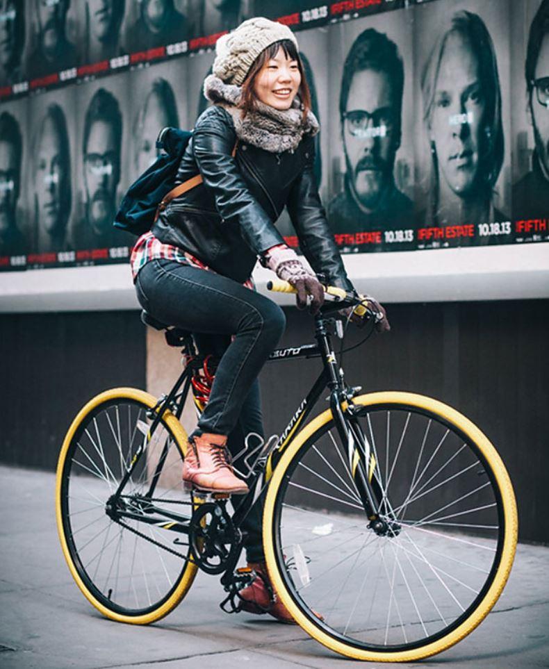 Жители Нью Йорка на велосипедах (6)