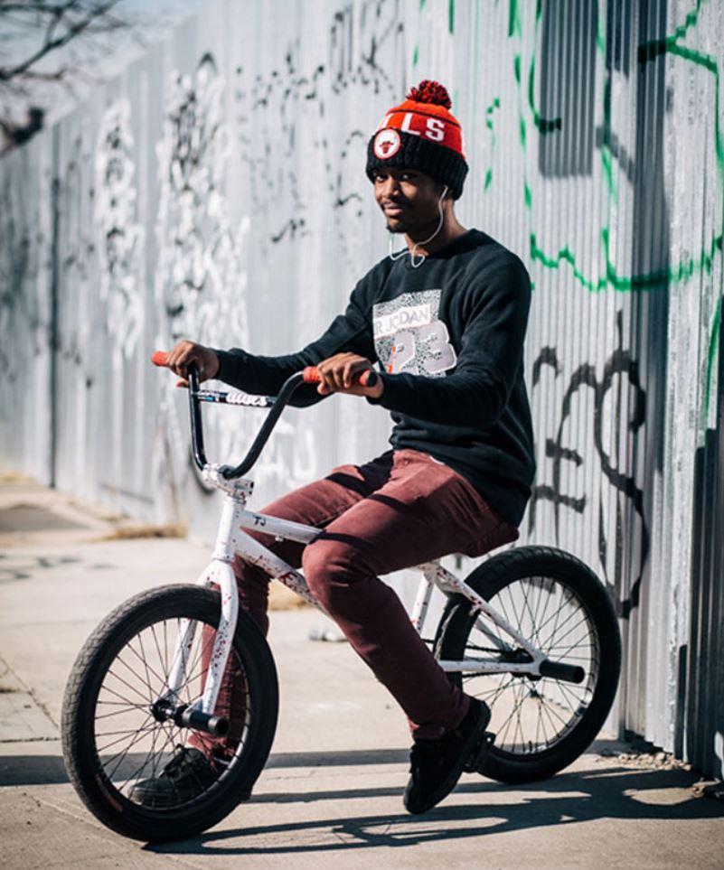 Жители Нью Йорка на велосипедах (7)