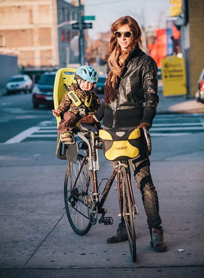 Жители Нью Йорка на велосипедах (8)