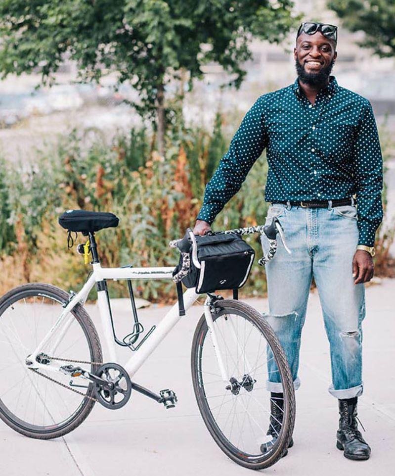 Жители Нью Йорка на велосипедах (9)